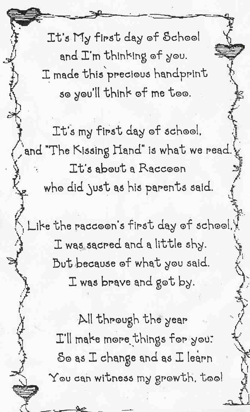 Yeah, it's a terrifically bad poem, but aside from that, did you ...